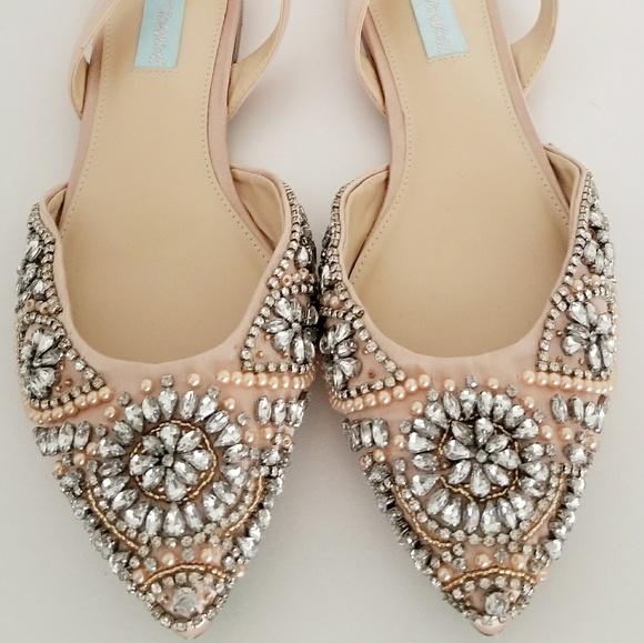 Betsey Johnson Wedding Shoe